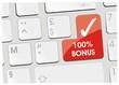 clavier 100% bonus