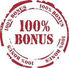 tampon 100% bonus