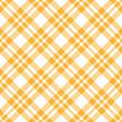 Karo Tischdecken Muster GELB - endlos
