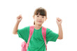 学校に通う女の子