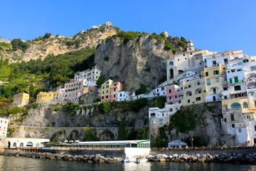Village d'Amalfi - Côte Amalfitaine - Italie du Sud