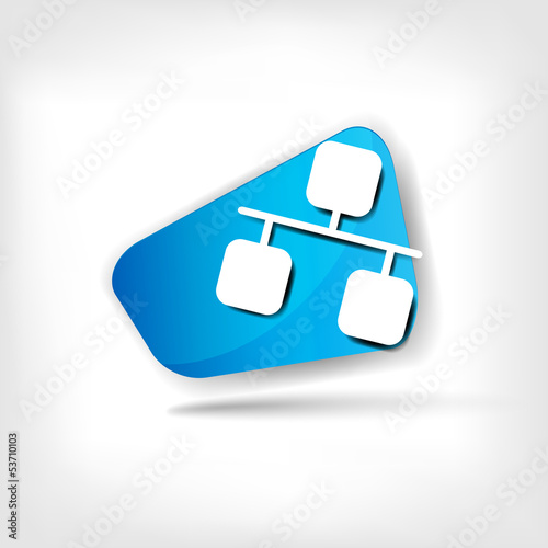 Network web icon