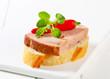 Leberkase sandwich