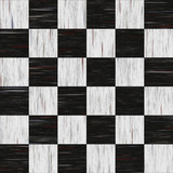 Old diner checkerboard linoleum - seamless texture