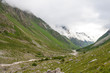 Scenic view at the walley in Caucasus mountains
