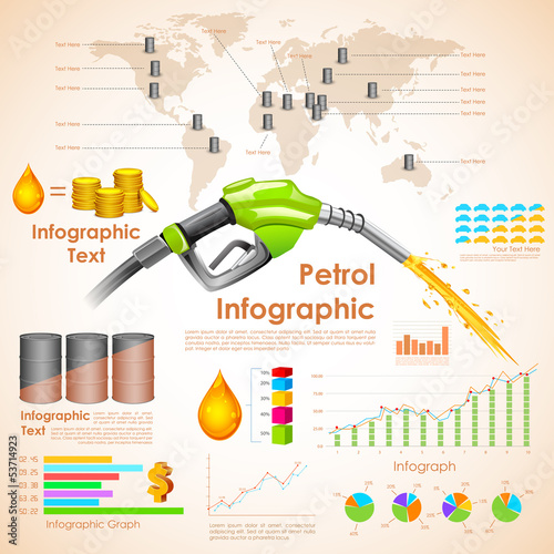 Petroleum Infographic