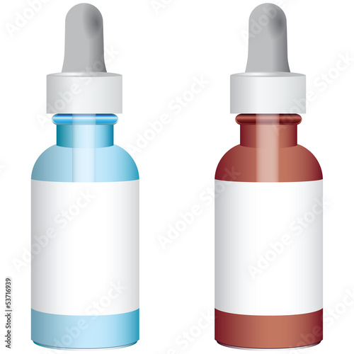 Bottles with droppers
