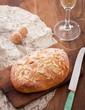 Traditional pine nuts brioche