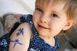 Kinder-Tattoo-Aufkleber