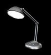 Desk lamp in a dark. 3D image.