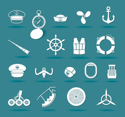 Airplane and boat elements
