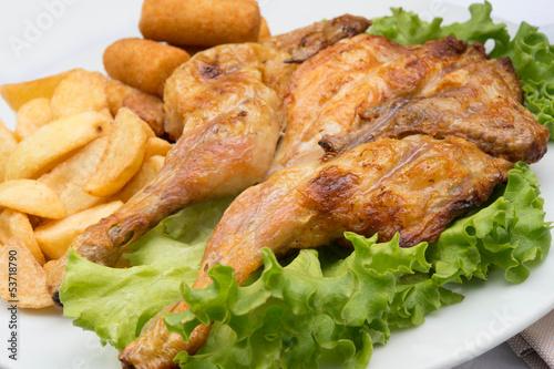Pollo alla griglia