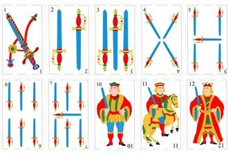 Cartas Españolas - Espada
