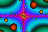Fractal - separation of atoms.