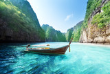 Fototapety bay at Phi phi island in Thailand