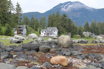 Waterfront Homes at Petersburg Alaska