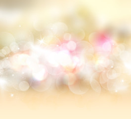 Gold starry background