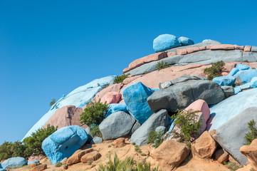 Painted Rocks, Tafraoute, Morocco