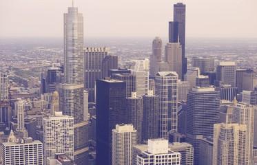 Skyline Chicago Ultraviolet