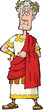 The Roman emperor
