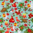 Merry Christmas texture seamless