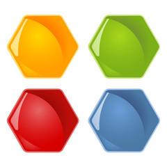 Waben - 4 Farben