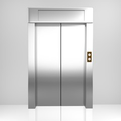 Rendered elevator
