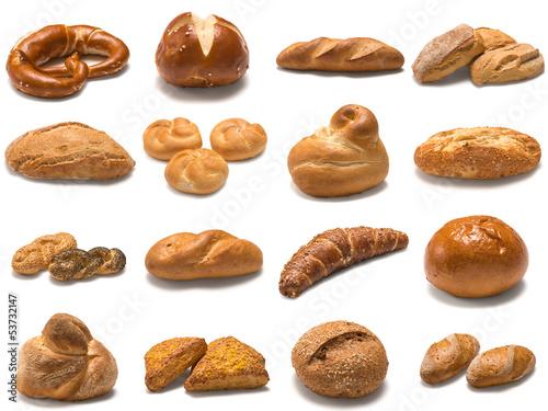 Gebäck-Brot