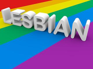 lesbiand word