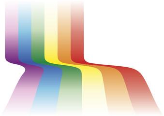 Gay background waving