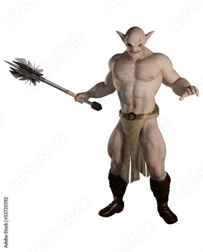Goblin Warrior with Mace