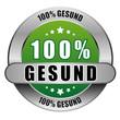 5 Star Button grün 100% GESUND DTO DTO