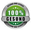 5 Star Button grün 100% GESUND GUL GUL