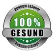 5 Star Button grün 100% GESUND RG RG