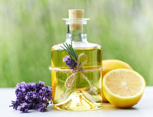 Duftöl (Lavendel, Zitrone)