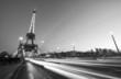 PARIS - DEC 1: Cars speed up in Pont D