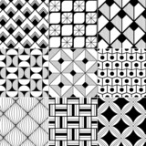 Fototapety monochrome abstract seamless background