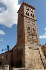 Mudejar tower in Teruel,Aragon,Spain