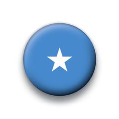 Vector flag button series Somalia