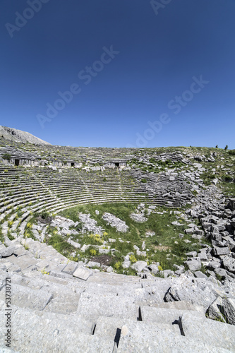 Amphitheatre of Sagalassos in Isparta, Turkey