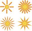 Солнце, Значок. Символ