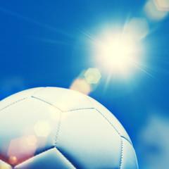 football sunlight