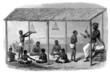 India - Traditional School scene - 19th century