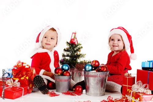 funny baby santas