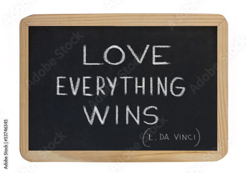 love everything wins