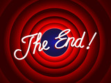 """THE END"" Message (conclusion presentation last slide thank you)"
