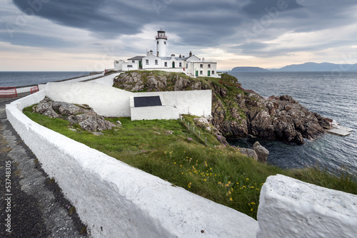 Lighthouse at Fanad Head, North Ireland