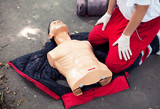CPR training detail poster