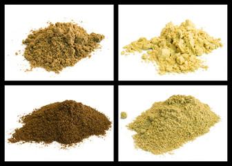 mustard, coriander, fennel, celery