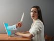 woman afraid virtual maniacs